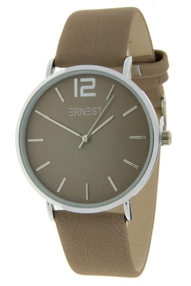 Ernest horloge Silver-Cindy-FW18 hazelnoot