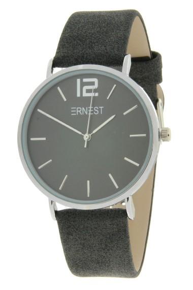 Ernest horloge Silver-Cindy-SS19 stonewash zwart