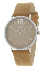 Ernest horloge Silver-Cindy-SS19 lichtbruin