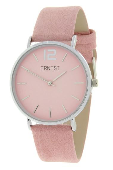 Ernest horloge Silver-Cindy-SS19 lichtroze