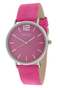 Ernest horloge Silver-Cindy-SS19 fuchsia
