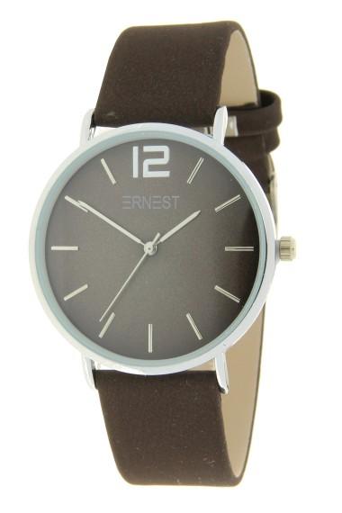 Ernest horloge Silver-Cindy-FW19 choco