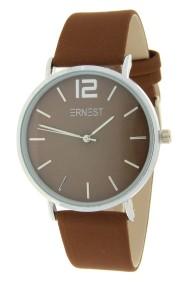 Ernest horloge Silver-Cindy-FW19 lichtbruin