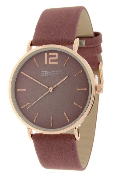 Ernest horloge Rosé-Cindy-FW18 donkeroudroze