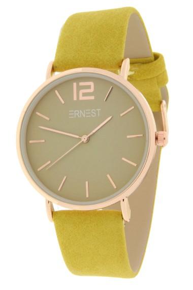 Ernest horloge Rosé-Cindy-SS19 mostard