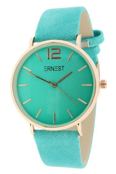 Ernest horloge Rosé-Cindy-SS19 turquoise