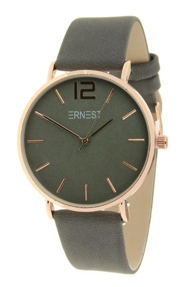 Ernest horloge Rosé-Cindy FW19 donkergrijs