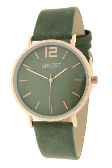 Ernest horloge Rosé-Cindy FW19 stonewash groen