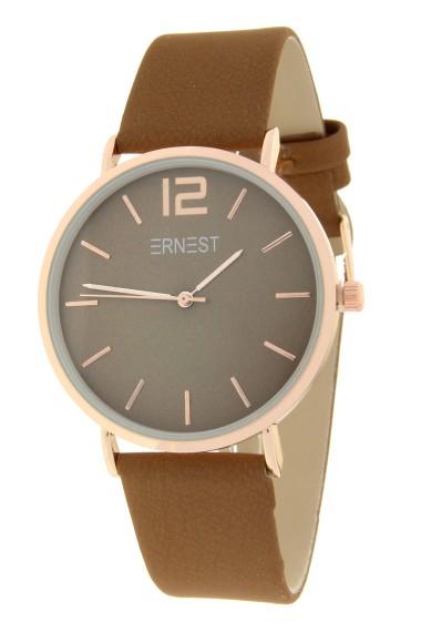 Ernest horloge Rosé-Cindy FW19 licht mocca