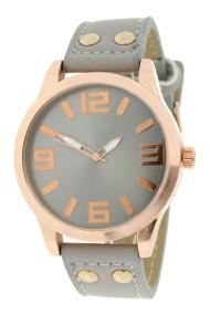 """Ernest horloge """"Rosé-Brixton medium"""" lichtgrijs"""