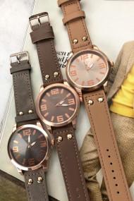 """Ernest horloge """"Rosé-Brixton medium"""" taupe"""