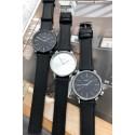 """Ernest horloge """"New-Elegance"""" zwart-zwart"""