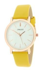 "Ernest horloge ""Rosé-Andrea"" geel"