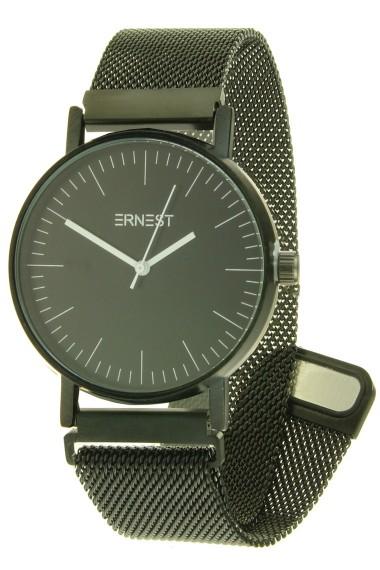 "Ernest horloge ""Finisty-Magnet"" zwart-zwart"