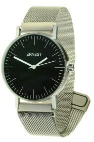 """Ernest horloge """"Finisty-Magnet"""" zilver-zwart"""