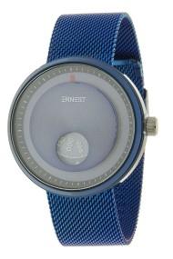 "Ernest herenhorloge ""Future"" blauw"