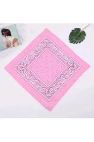 """Bandana """"Feather & Paisley"""" pink"""