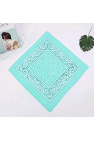 "Bandana ""Feather & Paisley"" mint"