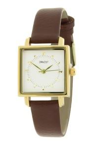 """Ernest horloge """"Amber"""" bruin"""