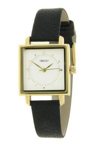 "Ernest horloge ""Amber"" zwart"
