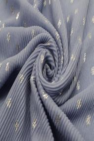 """Sjaal """"Plisse Swirls"""" jeans"""