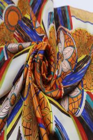"Sjaal ""Silk Smile"" oranje"