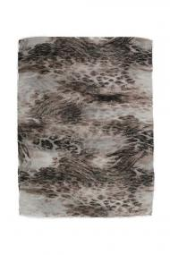 "Sjaal Faded Leopard"" beige"