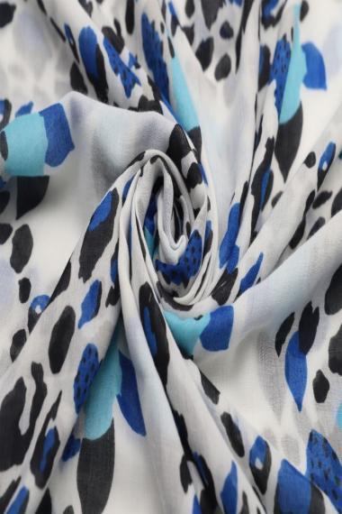 """Sjaal """"Color Fantasy"""" blauw"""