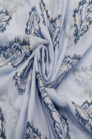 "Sjaal ""Feathers"" blauw"