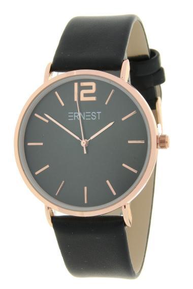 Ernest horloge Rosé-Cindy SS20 zwart