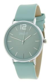 Ernest horloge Silver-Cindy SS20 pastelgroen