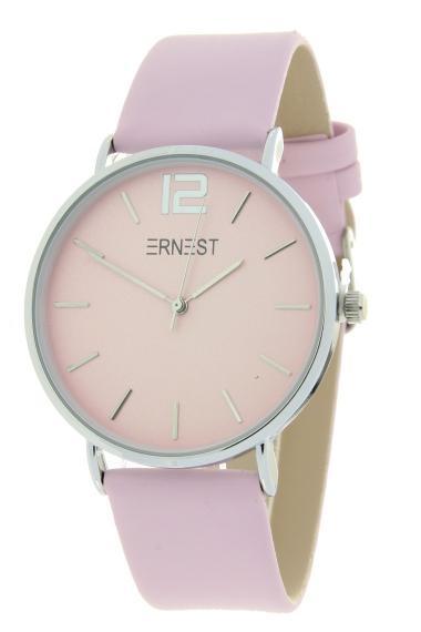 Ernest horloge Silver-Cindy SS20 soft pink