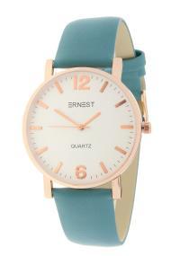 """Ernest horloge """"Rosé-Misty"""" frisblauw"""