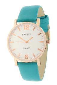 """Ernest horloge """"Rosé-Misty"""" turquoise"""