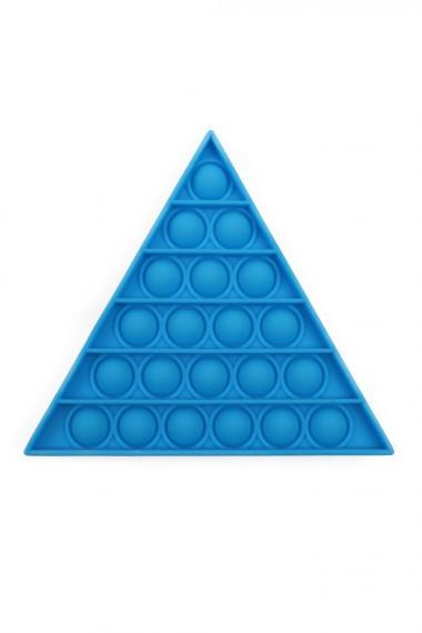 POPIT FIDGET TRIANGLE blauw