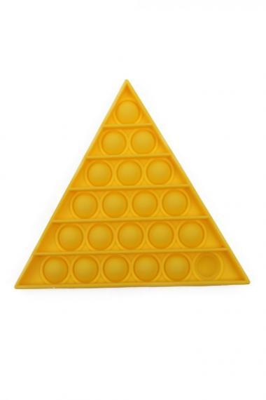 POPIT FIDGET TRIANGLE geel