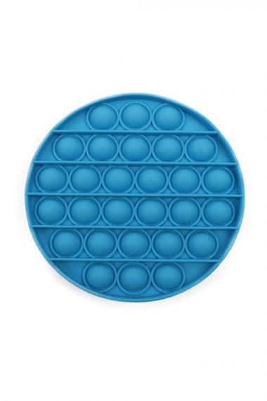 POPIT FIDGET ROUND blauw