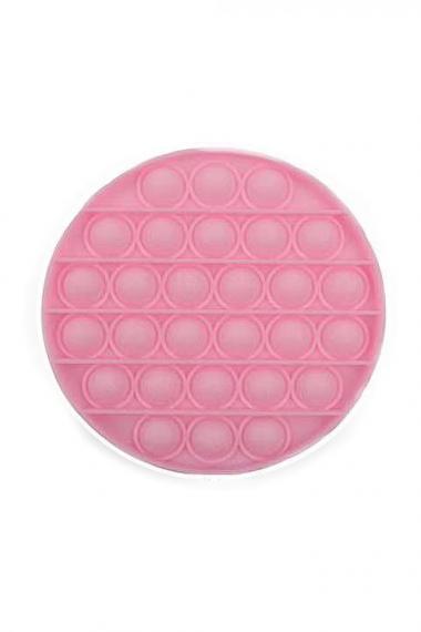 POPIT FIDGET ROUND pink