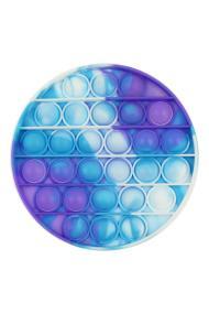 """POPIT FIDGET """"Messy Round"""" wit-paars-blauw"""