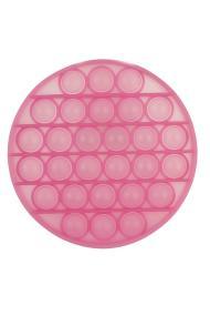 """POPIT FIDGET """"Round glow in the dark"""" pink"""