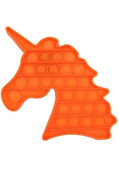 POPIT FIDGET Unicorn oranje