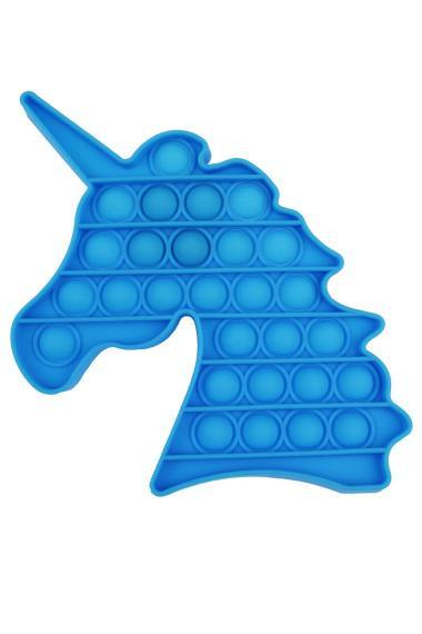 POPIT FIDGET Unicorn blauw