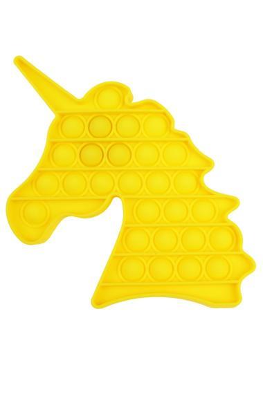 POPIT FIDGET Unicorn geel