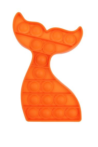 POPIT FIDGET Dolfijn oranje