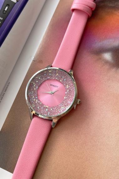 """Ernest horloge """"Tiarah"""" pink"""