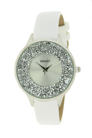 "Ernest horloge ""Tiarah"" wit"