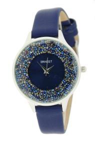 """Ernest horloge """"Tiarah"""" koningsblauw"""