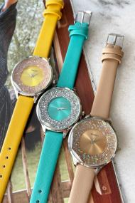 "Ernest horloge ""Tiarah"" camel"