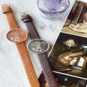 """Ernest horloge """"Vespera"""" camel"""