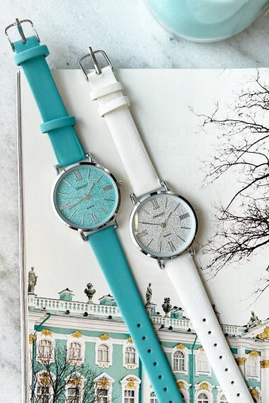 """Ernest horloge """"River"""" turquoise"""